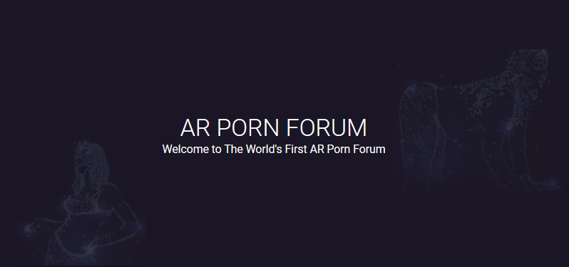 World's First Augmented Reality Porn Forum Launches